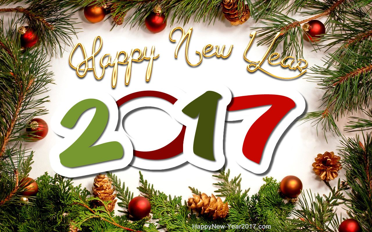 Happy new year 2017 happy new year 2017 christmas for New xmas decorations