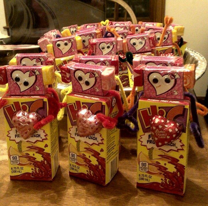 Valentine's Treat For Preschool
