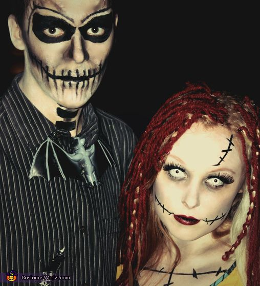 jack and sally halloween costume contest via costume_works - Halloween Jack Costume