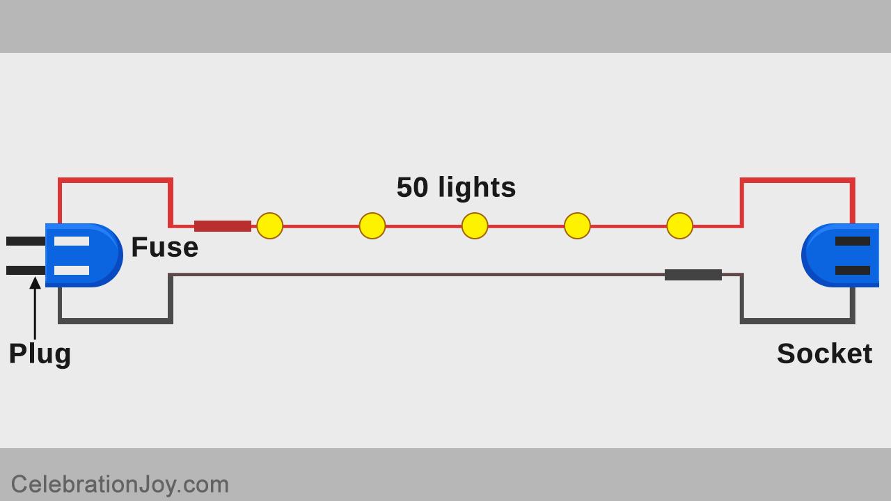 series circuit fix christmas lights, circuit