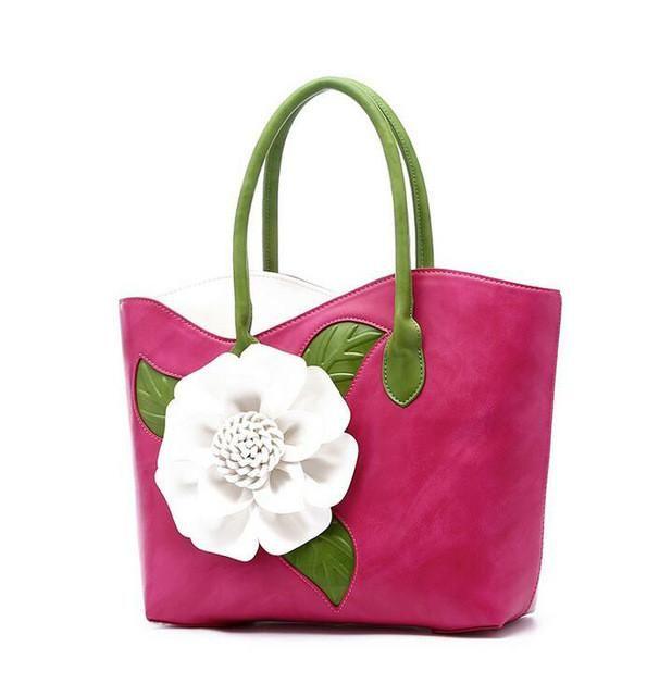 Lisipieces-Pu Leather Handbag