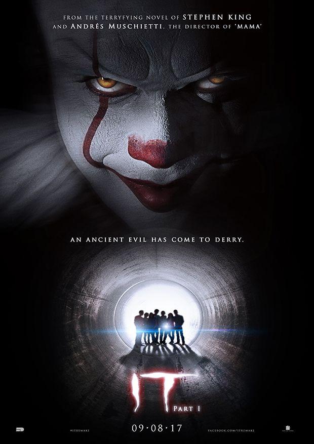 Stephen King S It Part 1 Teaser B By Sahinduezguen Poster Design Fanart Film Movie It Itthemovie Horror Stephenking Pennywise Clown Scary Kapitel