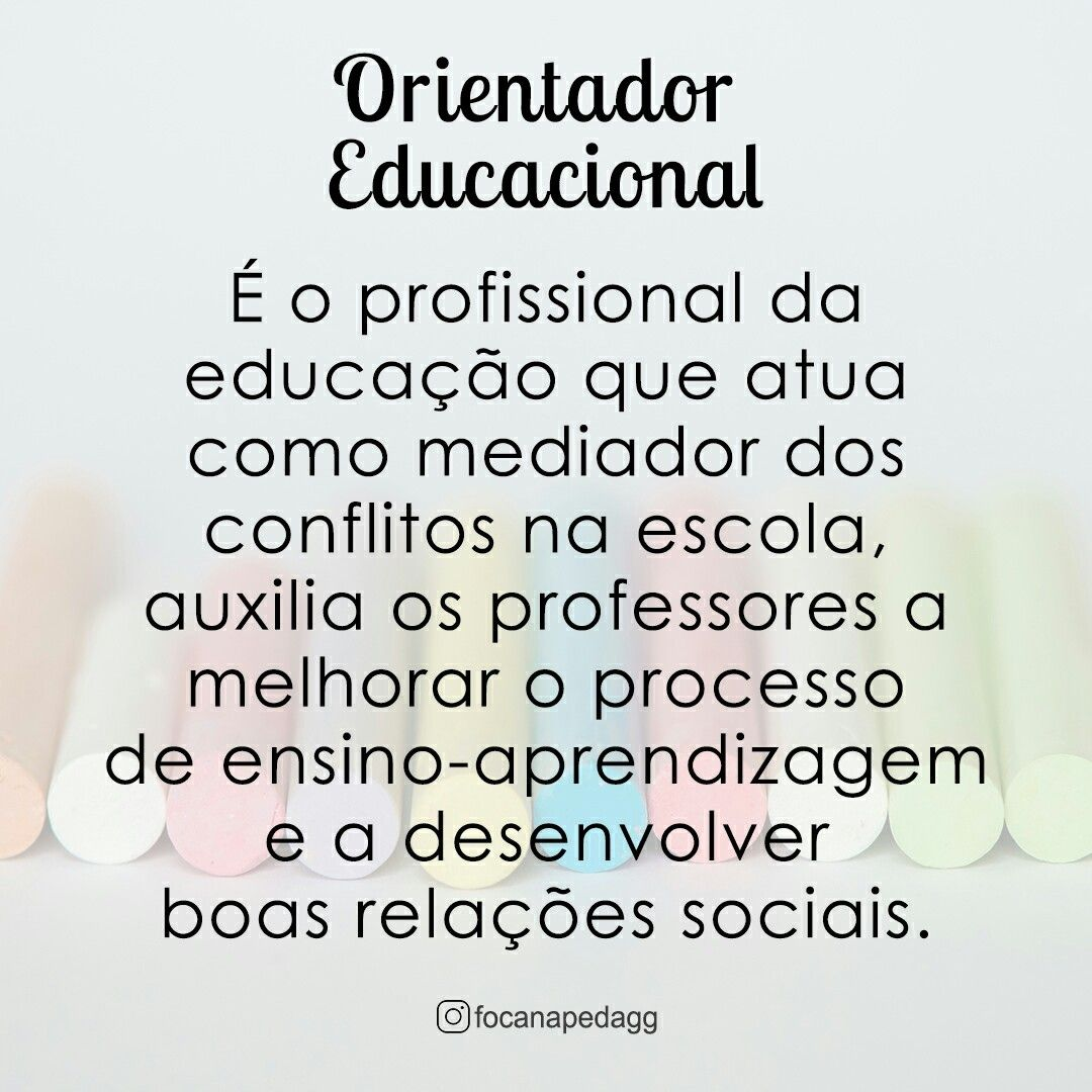 Orientacapeducacional Educacional Educacao School Escola