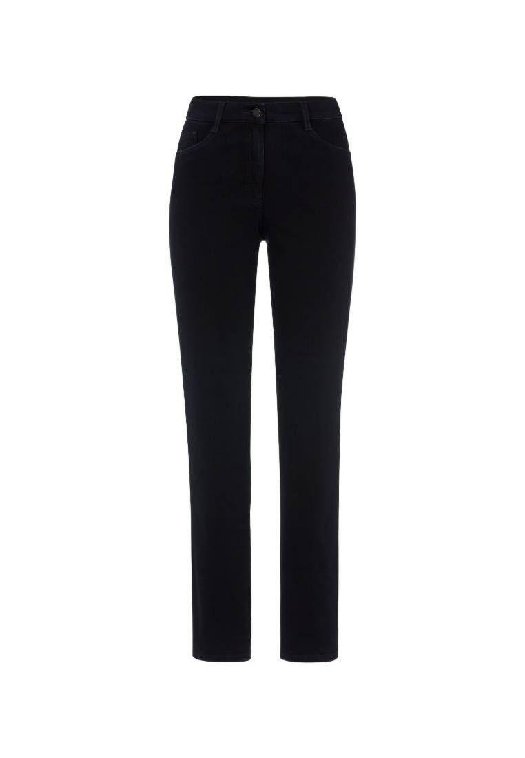 Brax. CAROLA CRYSTAL - Jeans Straight Leg - clean dark blue. Verschluss:verdeckter Zip-Fly. Beininnenlänge:82 cm bei Größe 38xR. Hosentaschen:Gesäßtaschen,Seitentaschen. Passform:Straight Leg. Material Oberstoff:94% Baumwolle, 4% Polyester, 2% Elasthan. Pfle...