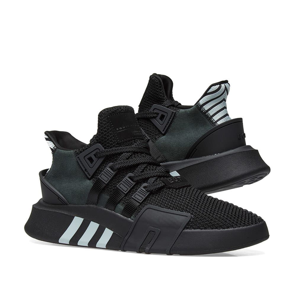 Adidas EQT Bask ADV in 2020 | Black adidas shoes, Sneakers