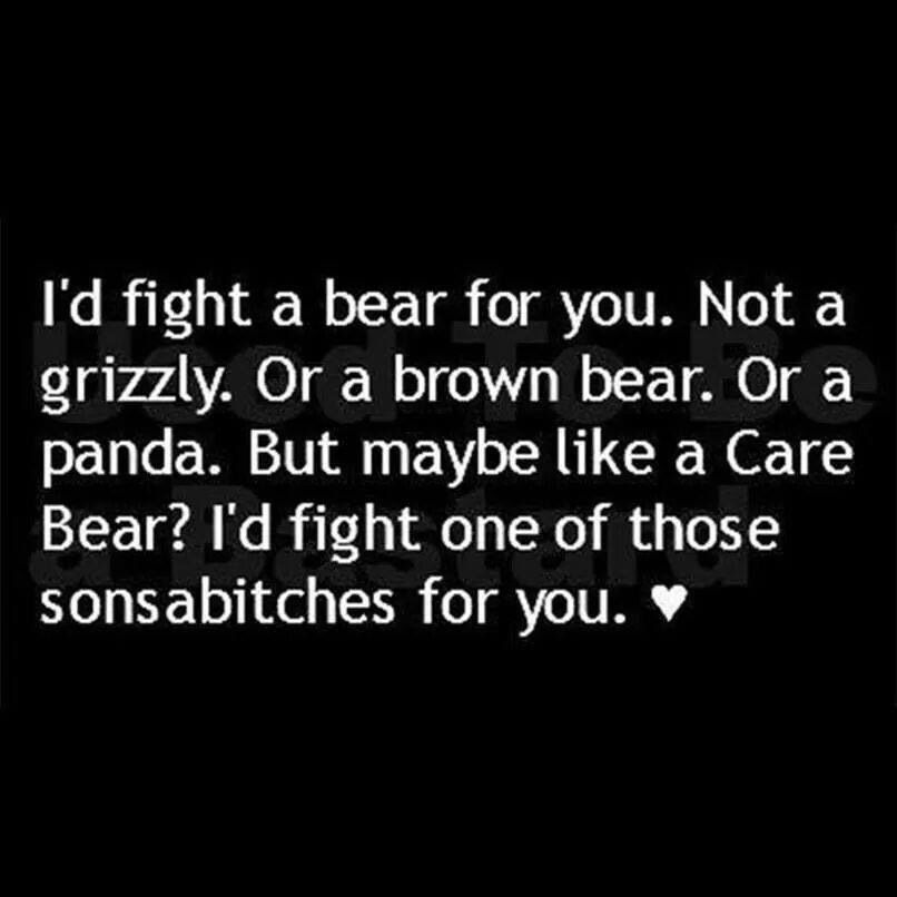 Quotes About Fighting For The One You Love Adorable I've Got Your Back  Too Funny  Pinterest