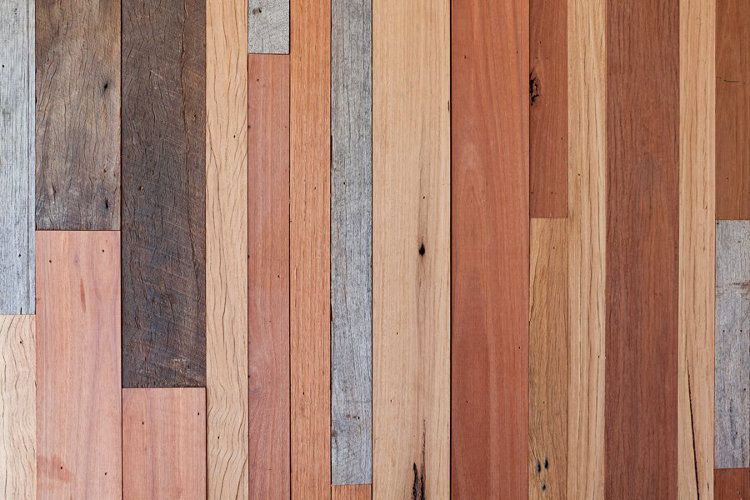 Recycled Timber As Wall Cladding Luv This