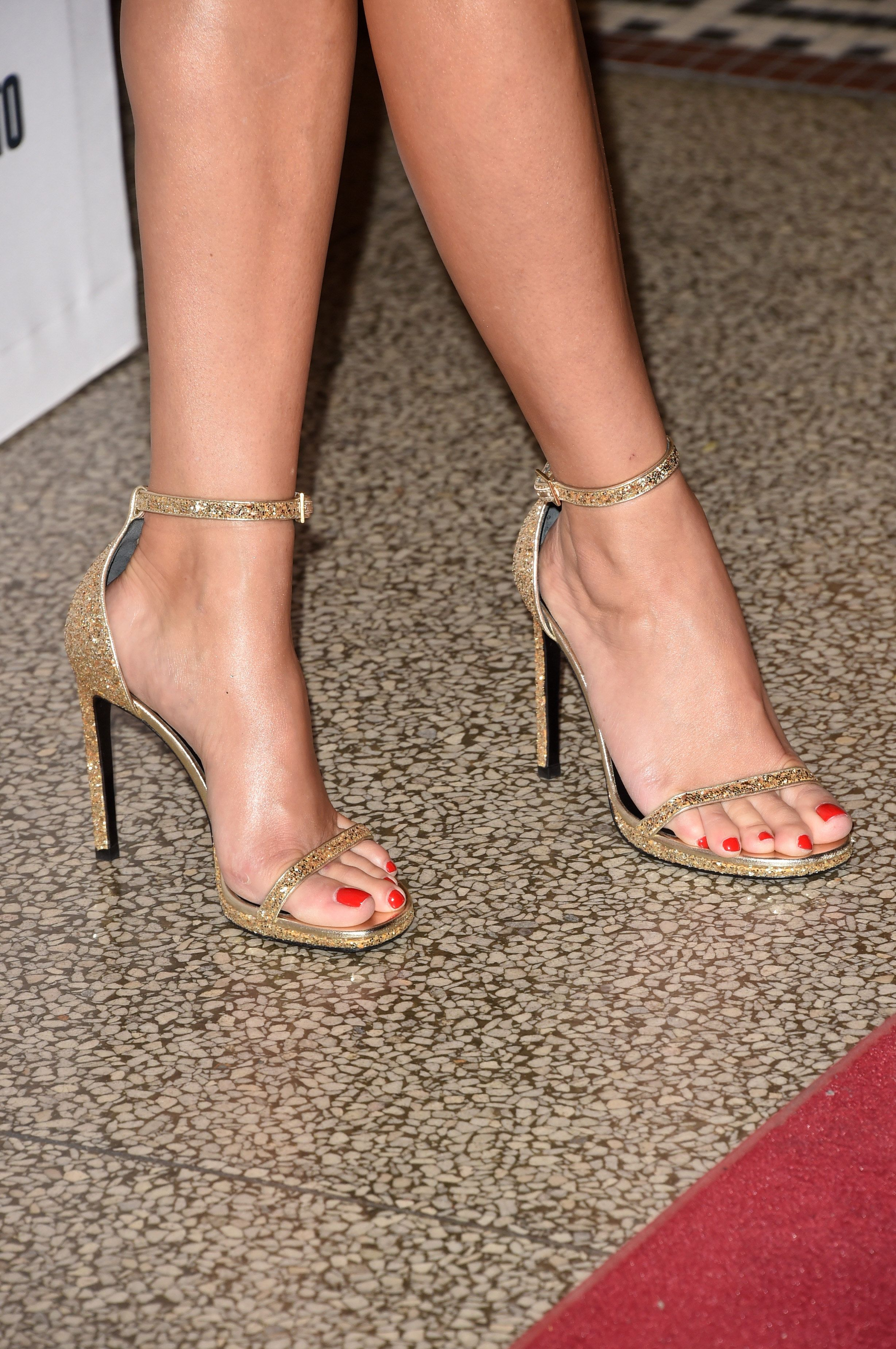 Reese Witherspoon (shoe detail) attends 'The Good Lie' premiere during the  2014 Toronto International Film Festival at The Elgin on September 2014 in  ...