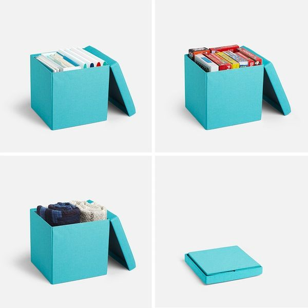 Poppin Aqua Box Seat | Cool And Modern Office Supplies And Furniture  #workhappy