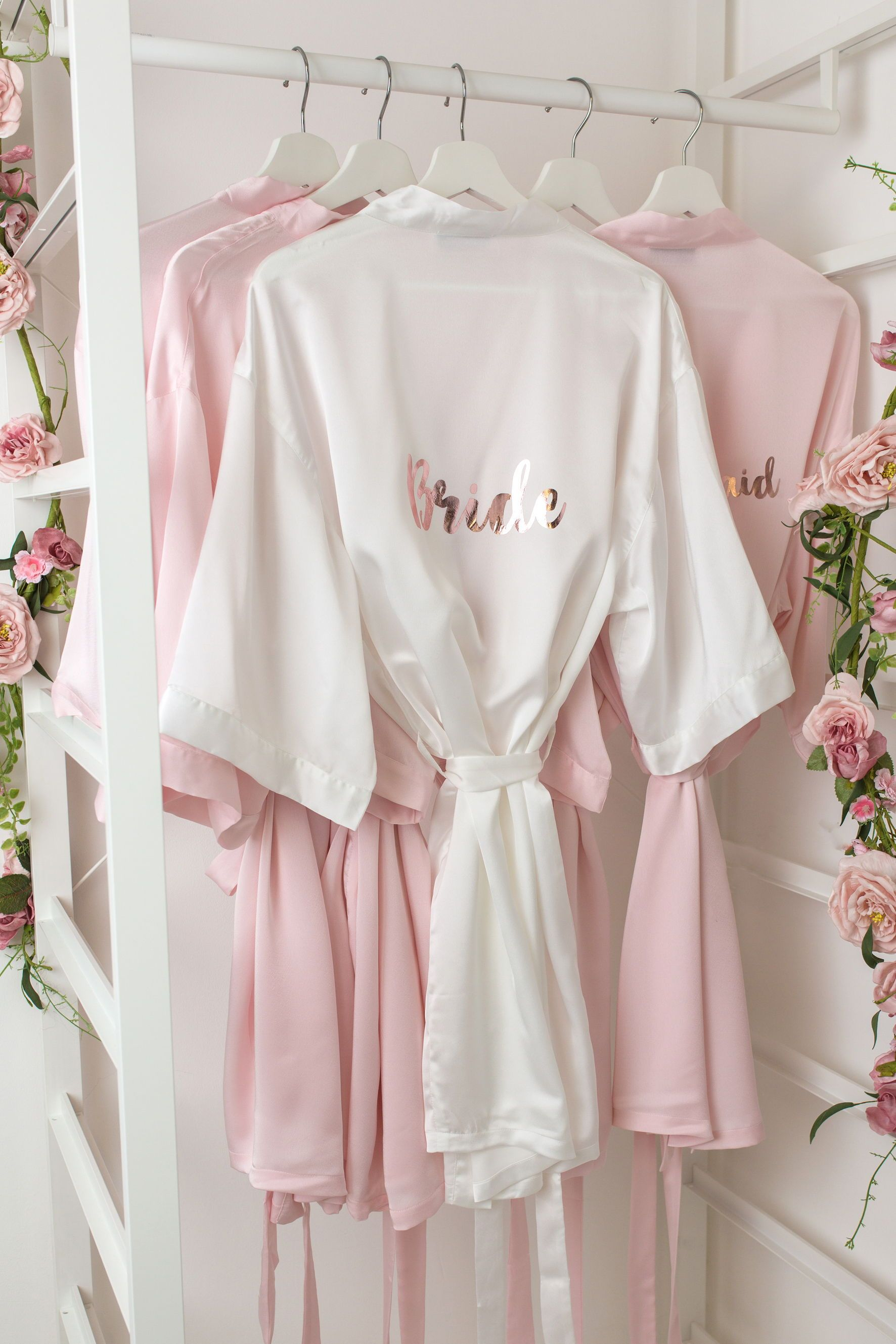 Wedding dressing gowns  Dressing gown Bridesmaid gifts wedding robe wedding dressing gown
