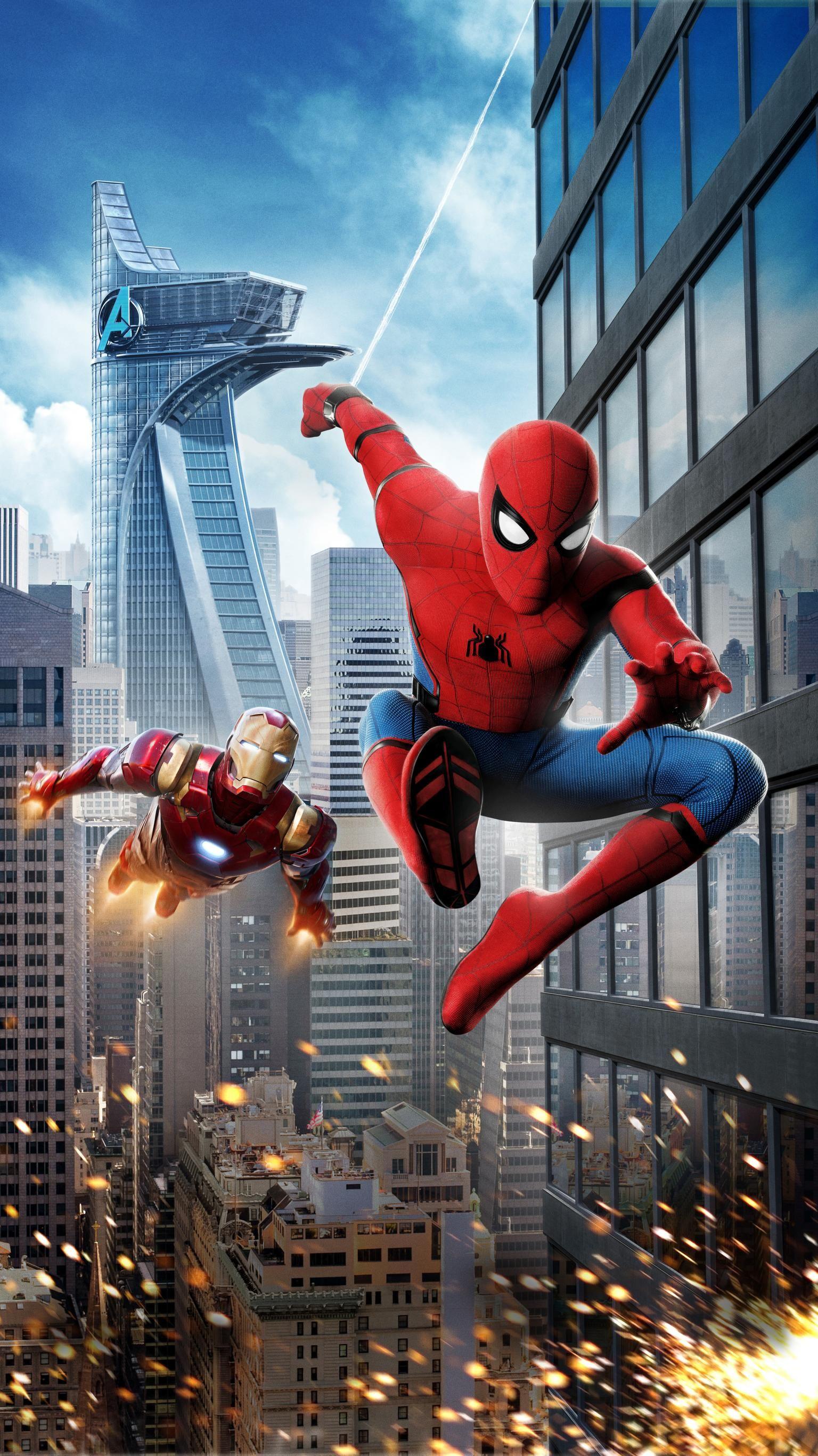 Spider Man Homecoming 2017 Phone Wallpaper Wallpapers