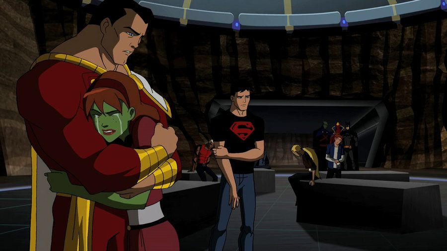 captain marvel young justice fanfic