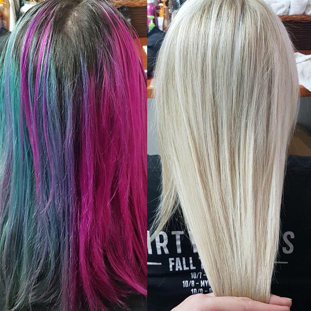 Colour Correction Using Joico Eraser My Hair Creations