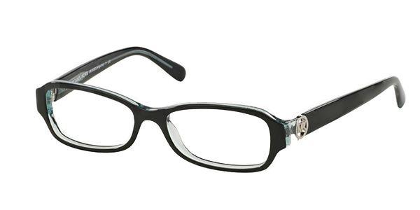 6729420fe3 Michael Kors MK8002 Glasses - Black Blue 3001 - Glasses 123 ...