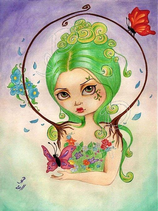 ..príroda..premeny.. by Hotarubi - SAShE.sk - Handmade Obrazy