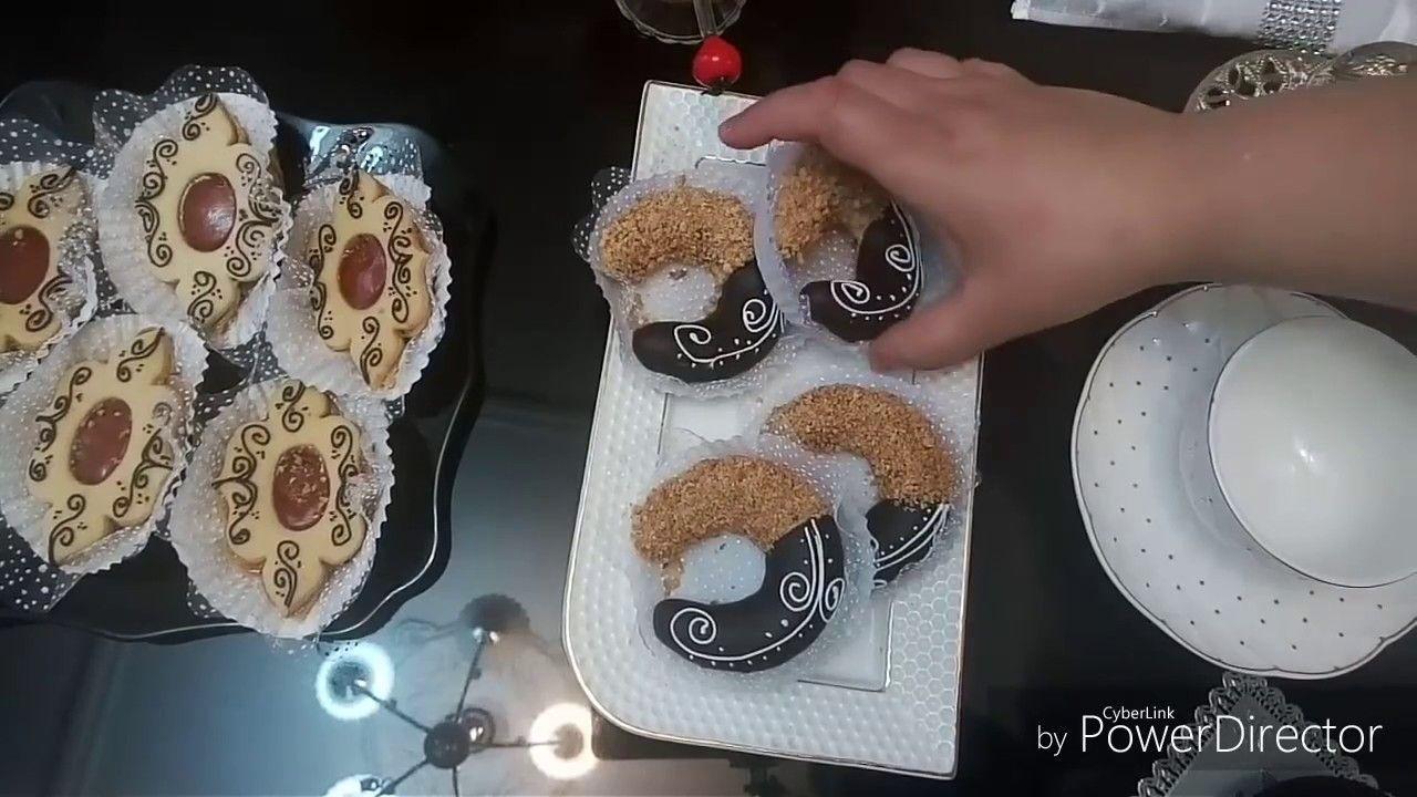 طريقة تقديم صينية قهوة للضيوف مع بعض الحلويات بانامل دهبية للاخت جنتي بناتي احلى سطايفية Desserts Food