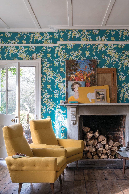 Wallpaper Colours Hegemone Bp 5705 Farrow Ball Home Interior Design Home Decor Farrow and ball wallpaper samples