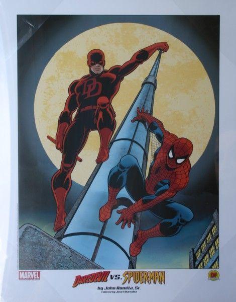 Daredevil and Spiderman