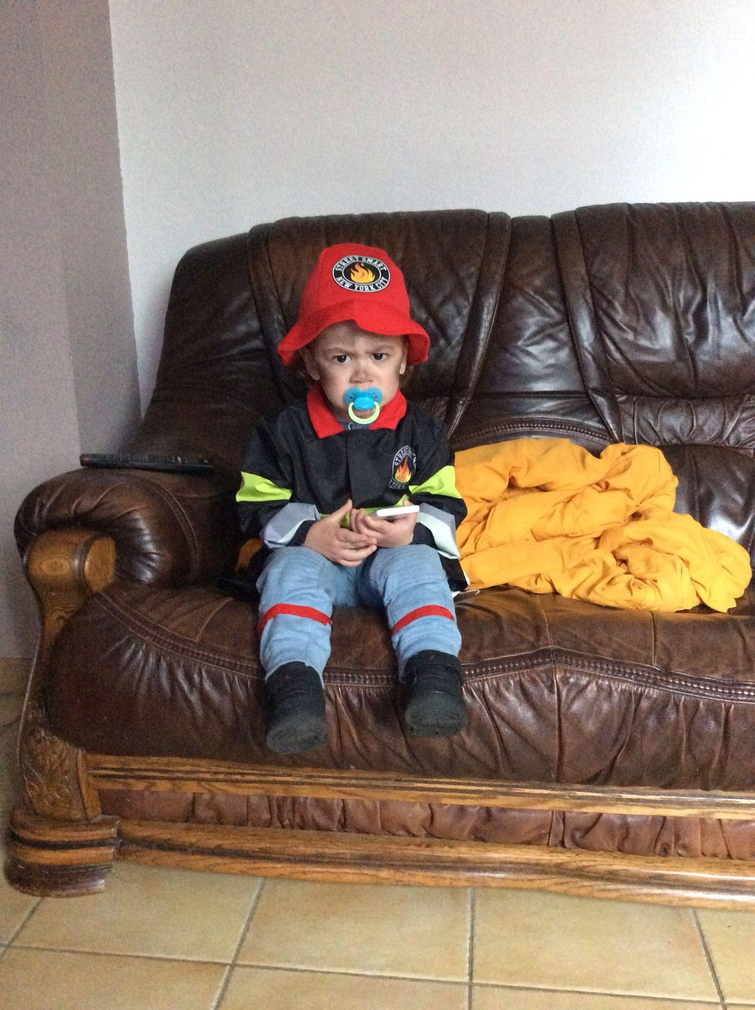 Sam le pompier pour carnaval