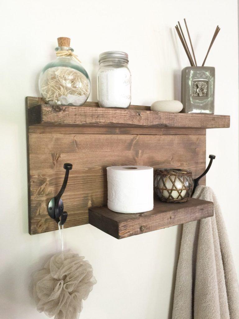 Bathroom Hooks With Shelf | Betsy\'s home decor | Pinterest ...