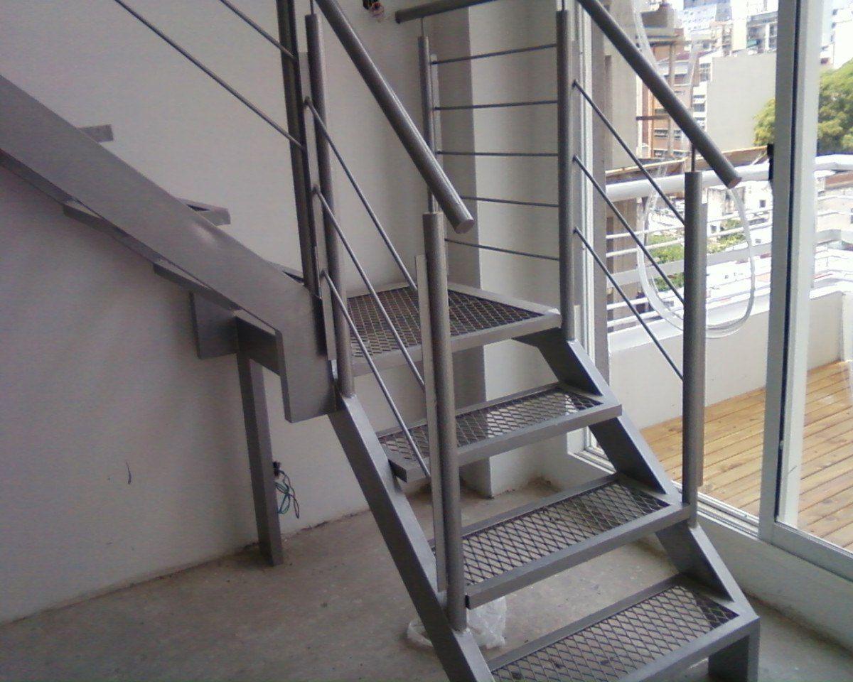 Entrepiso con hierro o madera buscar con google - Escaleras metalicas interiores ...