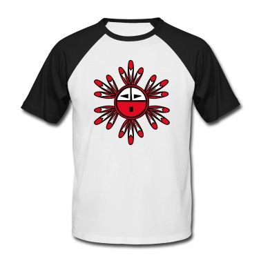 Hopi Native Americans Kachina Sun Symbol Tribal Symbols