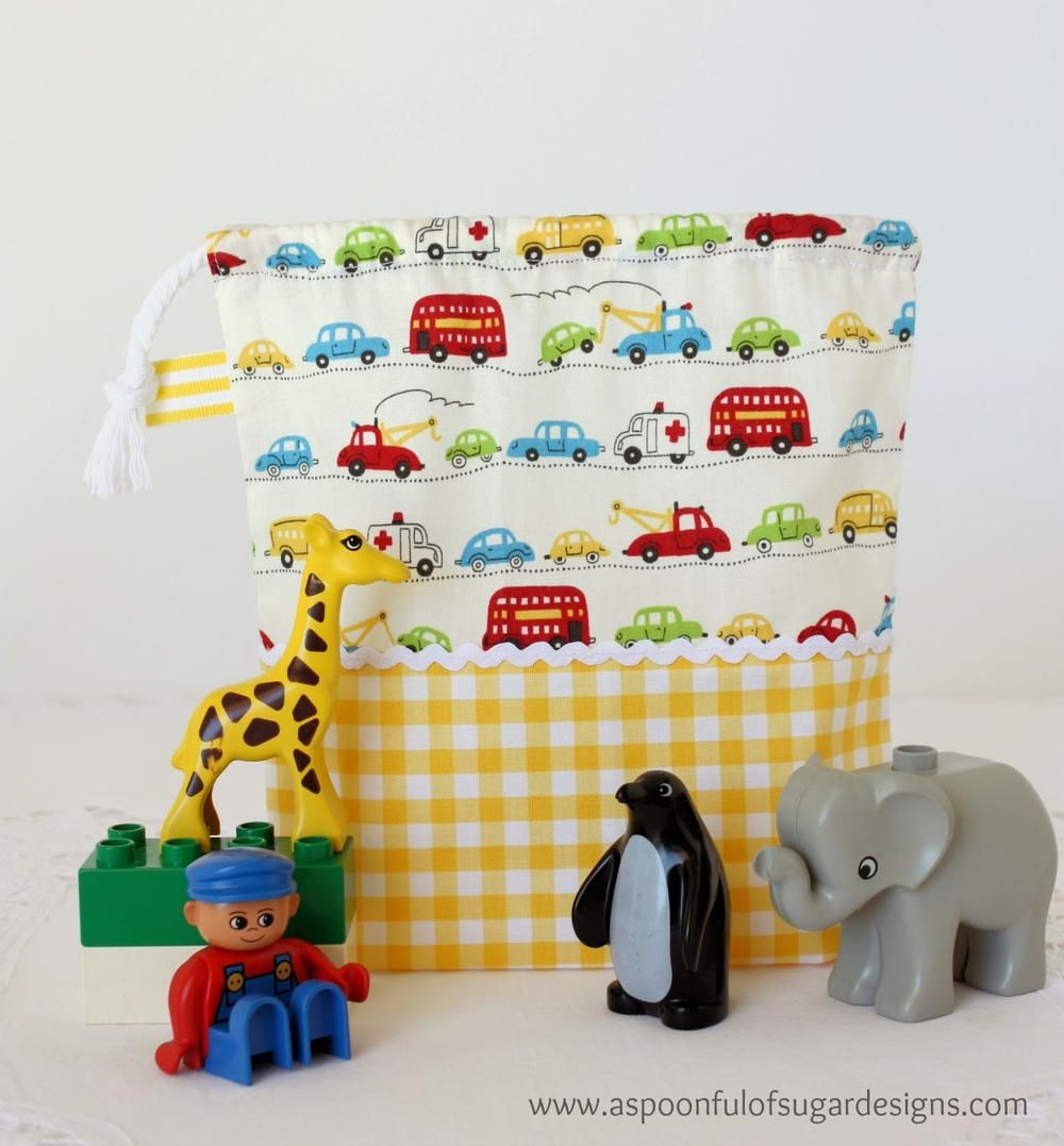 How to Organize Toys DIY Pouch