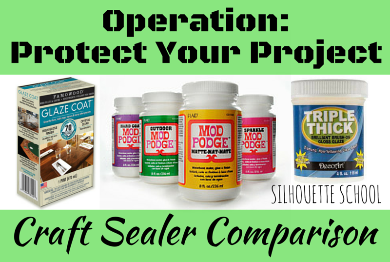 Craft Sealers Glaze Coat Mod Podge And Or Triple Thick When You Should Use Sealant And Wh Vinyl On Glass Dishwasher Safe Mod Podge Vinyl Projects Silhouette