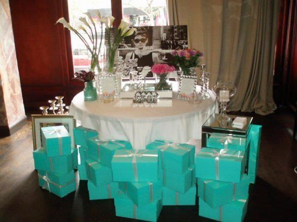 Tiffany & Co. Themed Birthday.