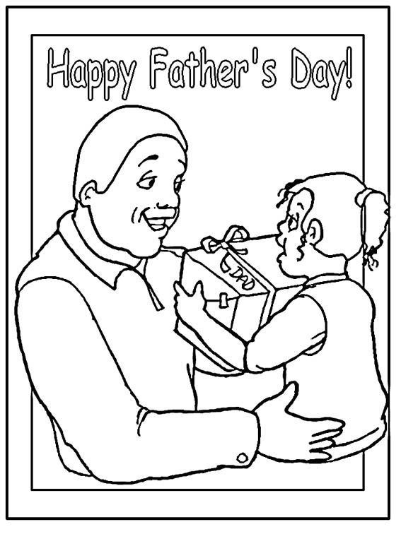 Fathers-Day Coloring Page - Print Fathers-Day pictures to color at - new free coloring pages for father's day