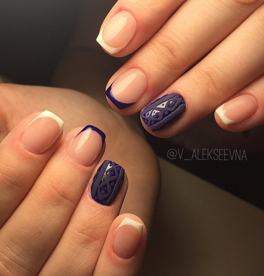 Nail Art #3818 - Best Nail Art Designs Gallery | Color french ...