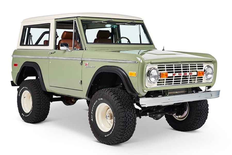 Ford Bronco Coyote Restoration Silicon Valley Modernizes a Classic | Man of Many