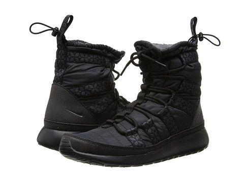 Nike Roshe Run Hi Sneaker Boot BlackAnthracite