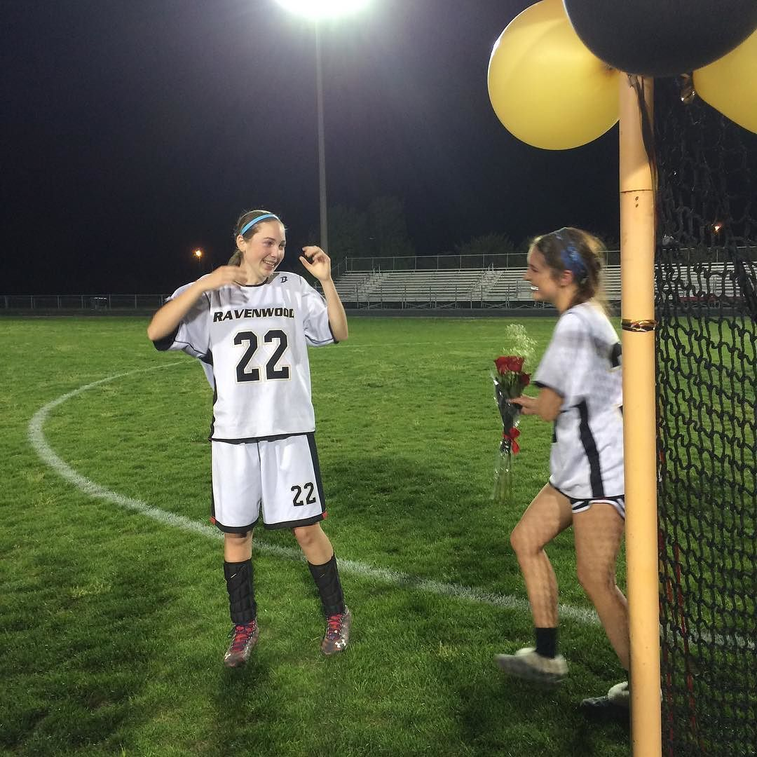 If you know me you know i dont get sappy often... But this is one of those acceptable moments when i am. This is my best goalie friend. If it wasnt for her i dont know what i would do at practice or at life. Shes the only reason i became a goalie! She makes me smile no matter how bad my days been. She says the craziest things and has the best conversation starters (once we assigned everyone on our team a vegetable that they were most like just because). I hope you have an amazing time in…