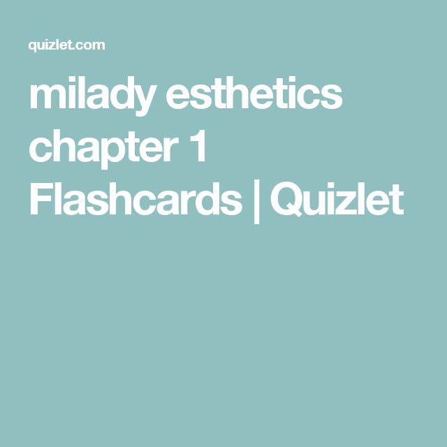 HISTORY OF COSMETICS milady esthetics chapter 1 Flashcards
