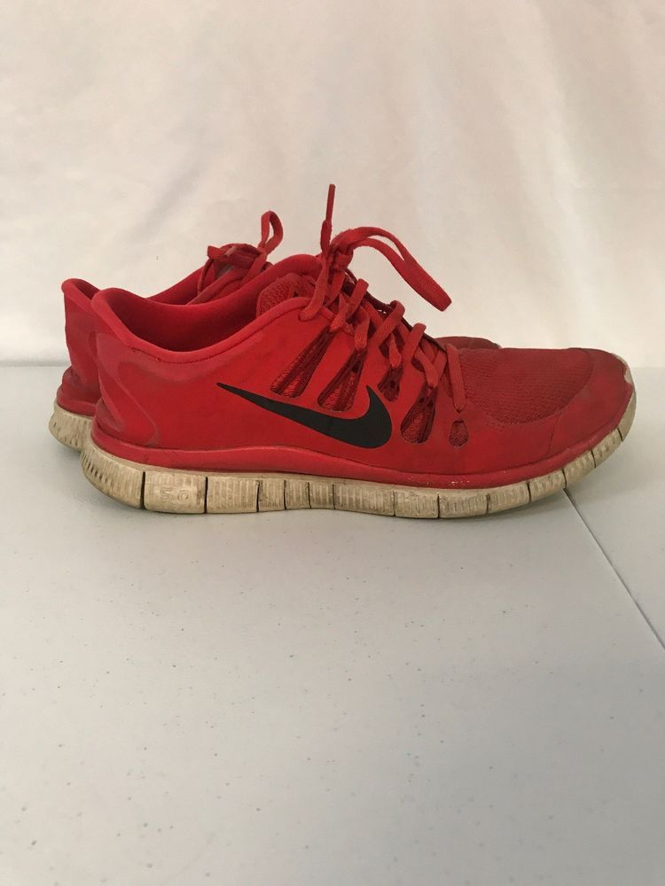 new styles 31f77 23a33 Mens Size 12 Nike Free Run 5.0 Red Black Running Run 579959-606  fashion   clothing  shoes  accessories  mensshoes  athleticshoes (ebay link)