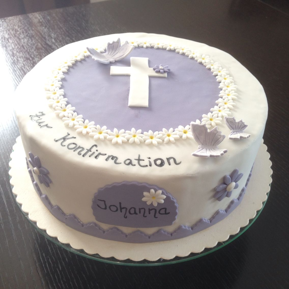 Kuchen Selber Machen Mit Fondant Die Einhorn Torte Das