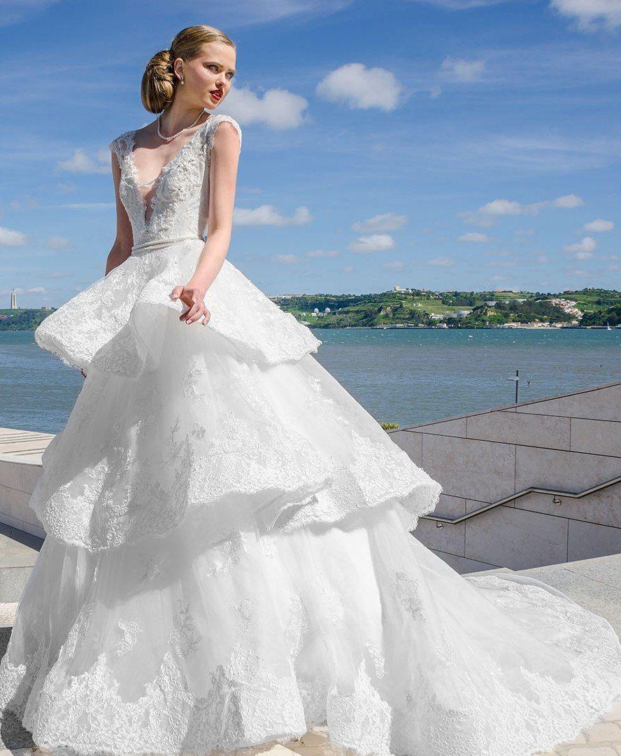 Preciosos Vestidos de Novia por Maria Karin - Te encantarán | Wedding