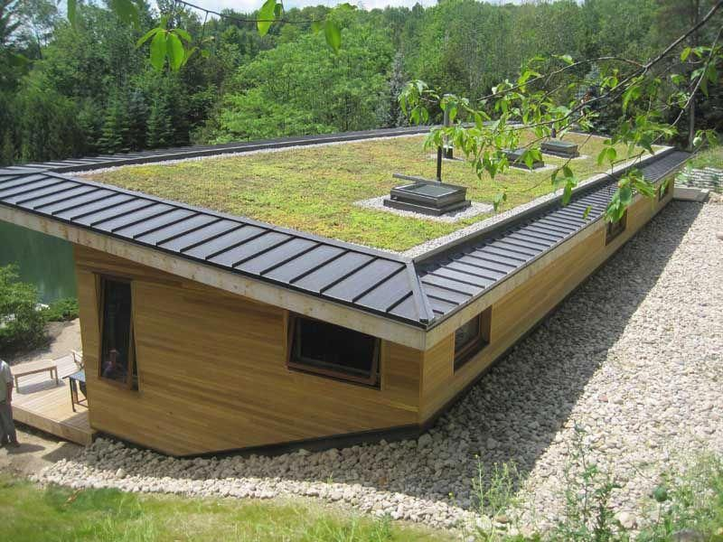 Green Roofs And Great Savings Green Roof House Green Roof Roofing