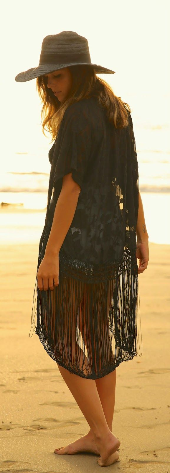 Everyday New Fashion: Lace In Sunset by TrendyTaste