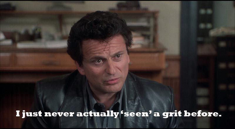 My Cousin Vinny Quotes Funny Lawyer Quote  My Cousin Vinny  Never Actually 'seen' A Grit