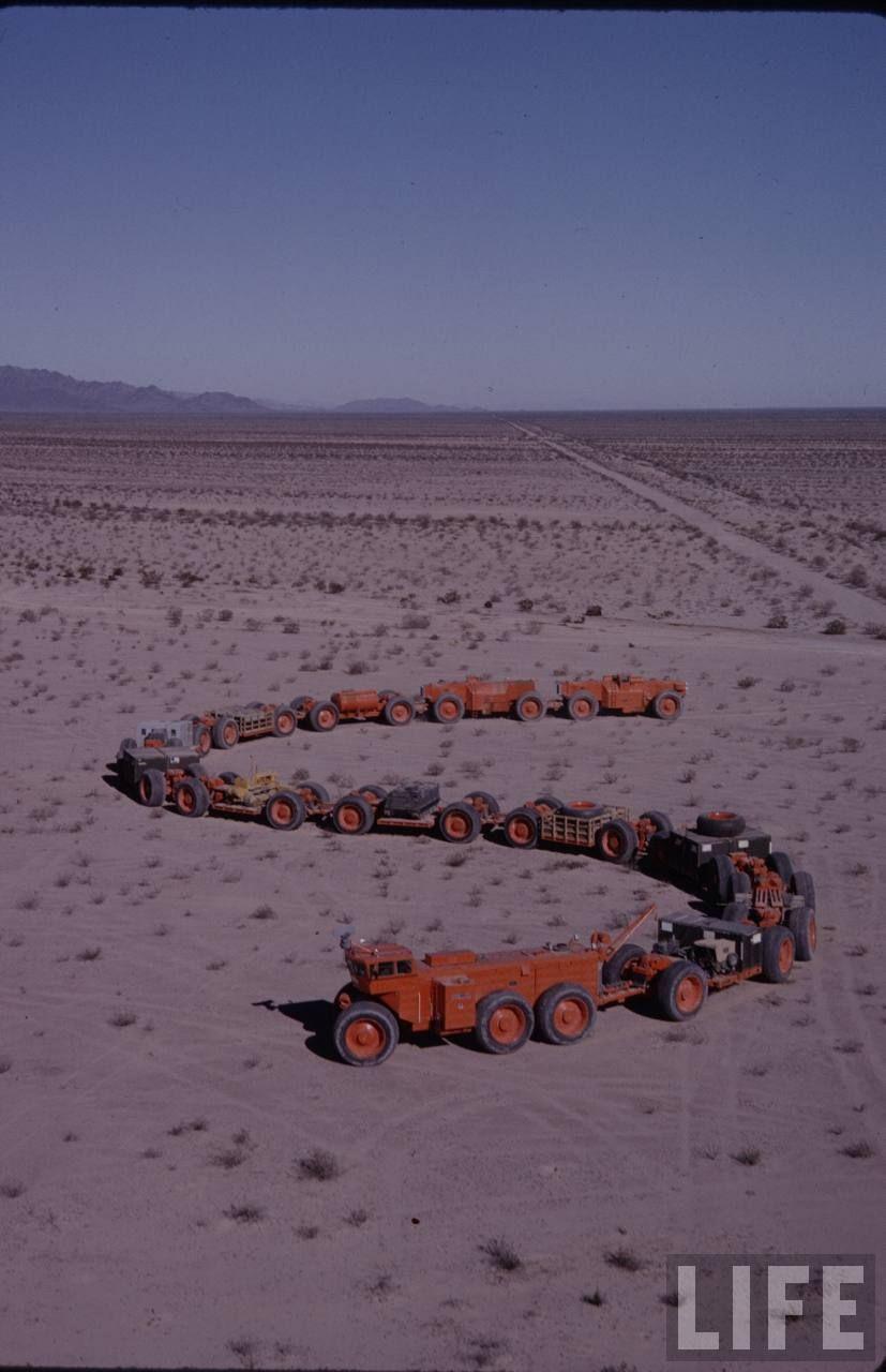 Tc 497 Overland Train : overland, train, LeTourneau, TC-497, Overland, Train, Overlanding,, Photos,, Monster, Trucks