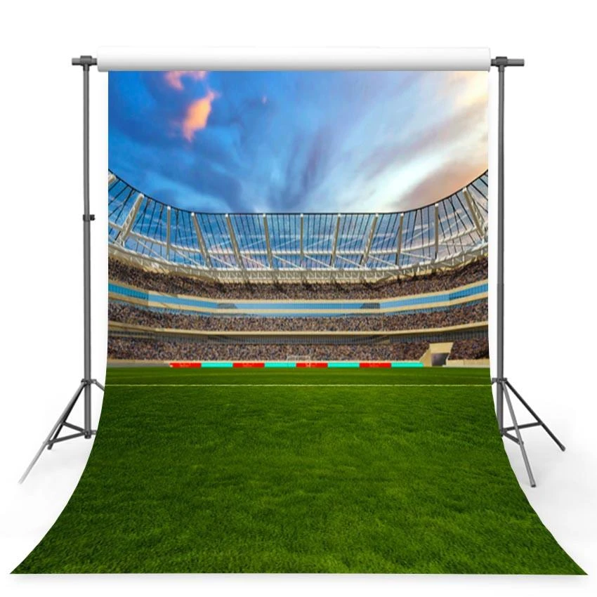 Photography Backdrop Green Lawn Football Field Sports Backdrop G 363 Dbackdrop Green Backdrops Photography Backdrop Field Sports
