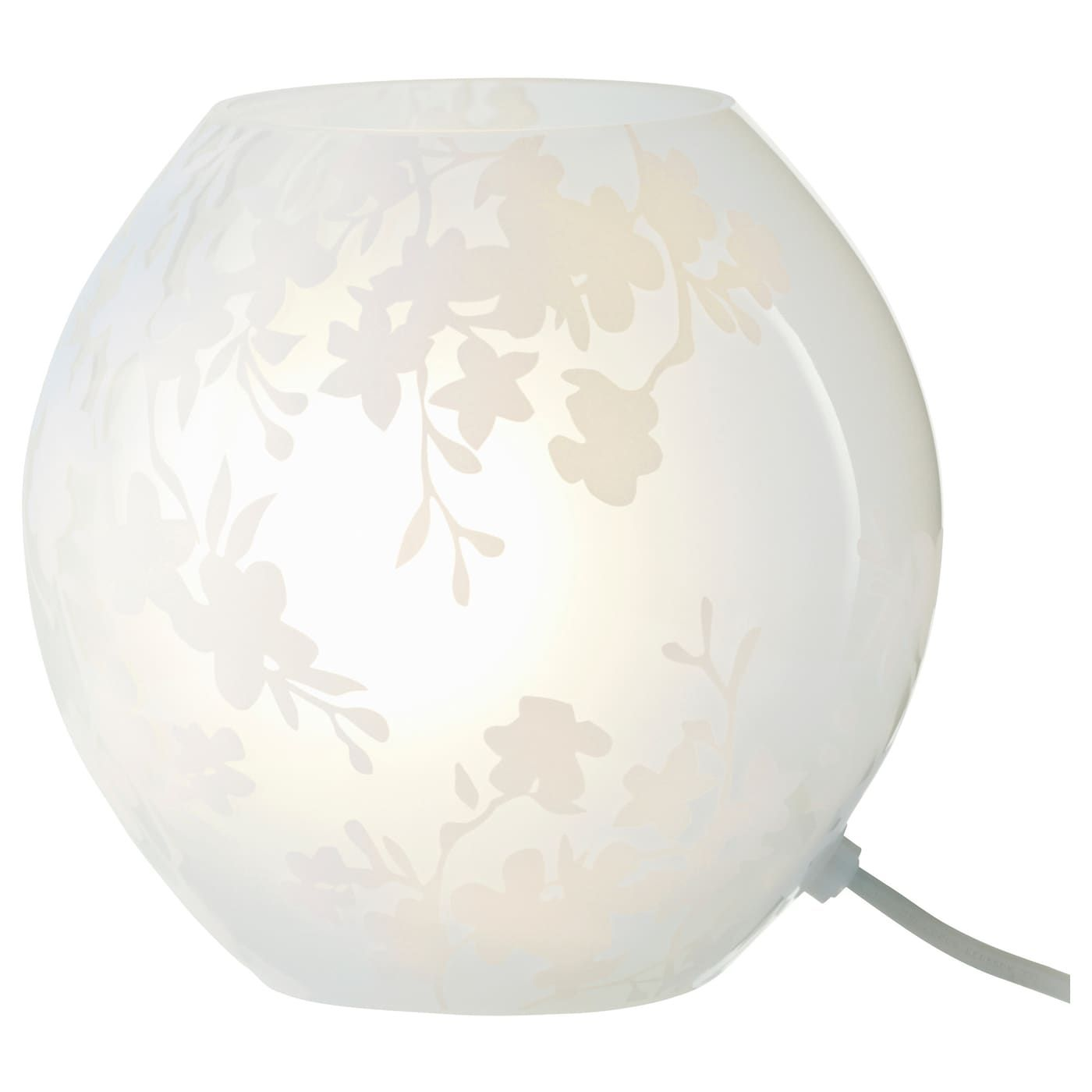 IKEA KNUBBIG Table lamp, cherry