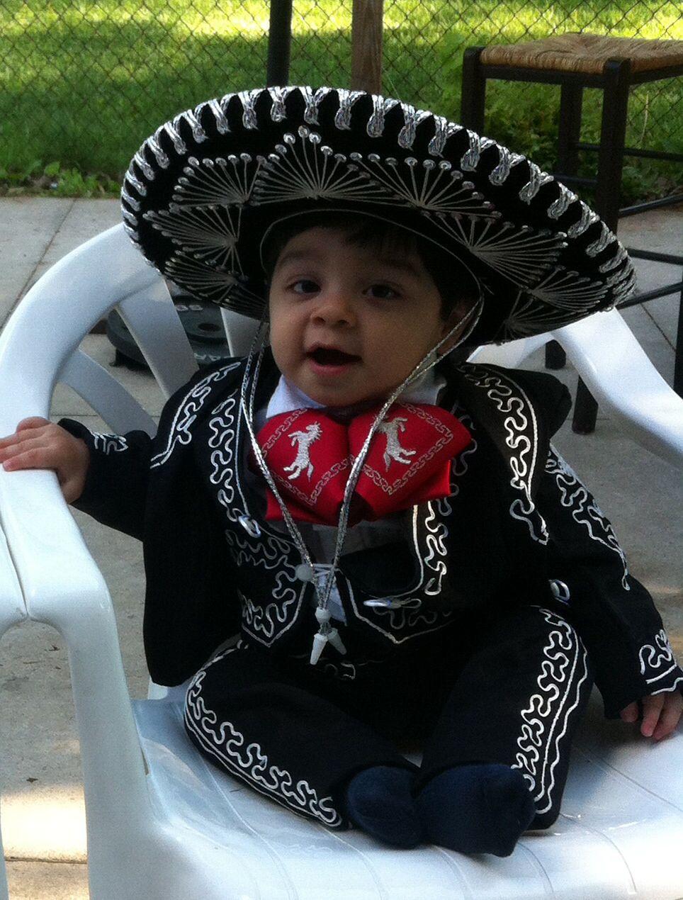 My cute mariachi baby Mexican babies, Baby girl birthday