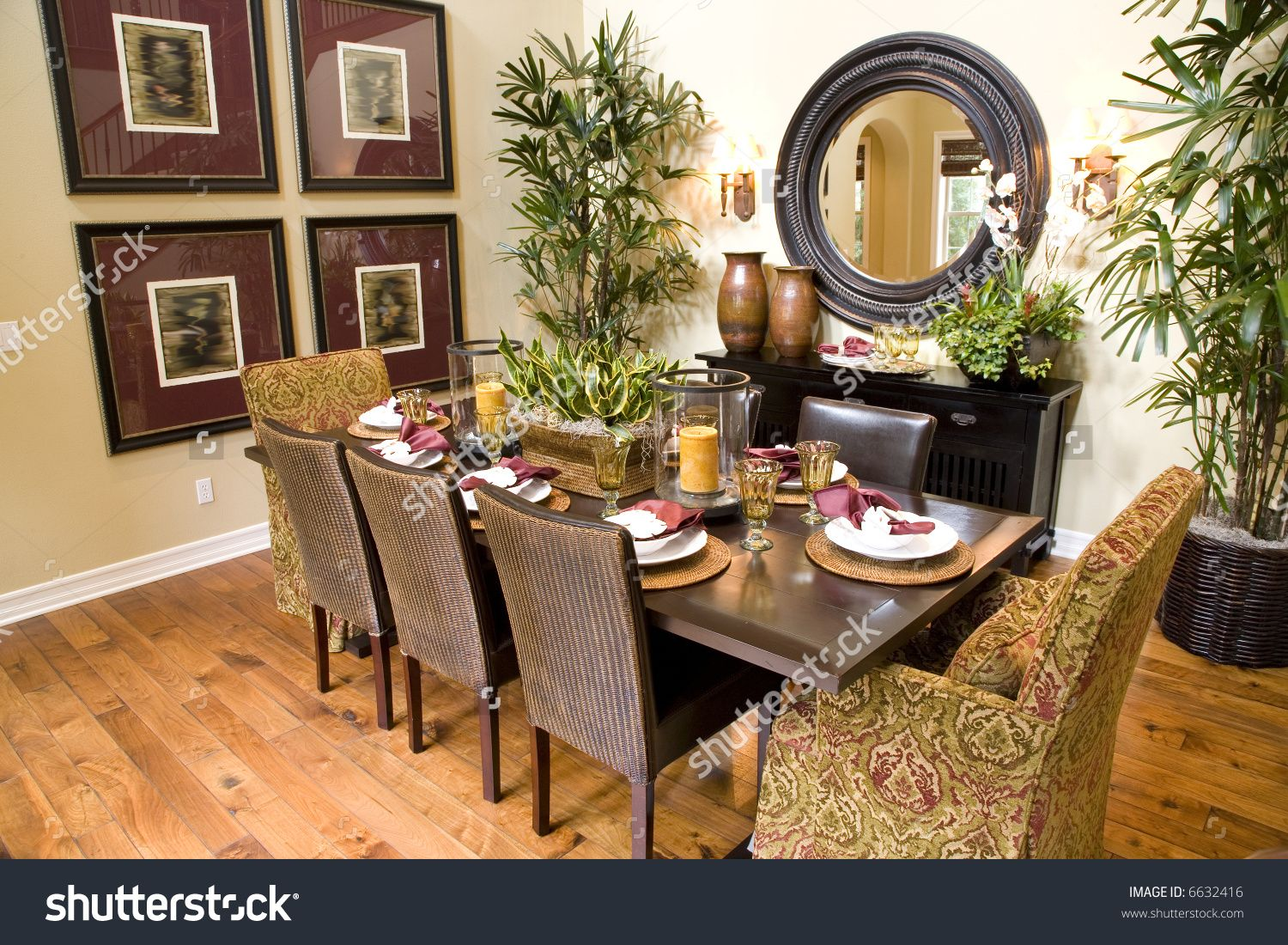 Design Dining Table Decor stock photo dining table with luxury decor 6632416 jpg 6632416
