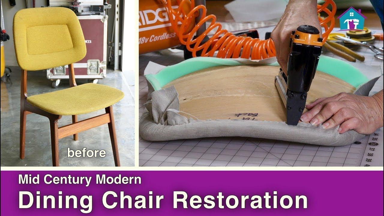 Mid Century Modern Chair Reupholstery Ev Için Fikirler Evler