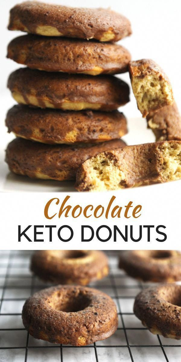 Best Low carb chocolate donut recipe for ketogenic diet snack ideas and easy ket…
