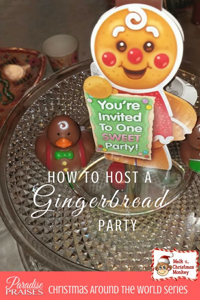 Christmas Around The World Party Ideas Part - 35: Gingerbread: The Story And Party Ideas
