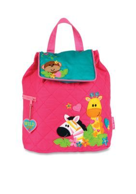 Quilted Backpack, Girl Zoo | Products | Monogram